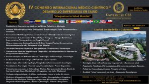 fLYER CONGRESS MEDELLIN